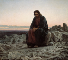 Ivan Kramskoy, Christ in the Wilderness, 1872<div class='url' style='display:none;'>/</div><div class='dom' style='display:none;'>evang-kreuzlingen.ch/</div><div class='aid' style='display:none;'>582</div><div class='bid' style='display:none;'>3780</div><div class='usr' style='display:none;'>376</div>