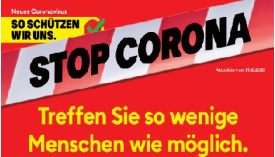"Stop Corona <span class=""fotografFotoText"">(Foto:&nbsp;Susanne&nbsp;Dschulnigg)</span><div class='url' style='display:none;'>/</div><div class='dom' style='display:none;'>evang-kreuzlingen.ch/</div><div class='aid' style='display:none;'>241</div><div class='bid' style='display:none;'>4056</div><div class='usr' style='display:none;'>29</div>"